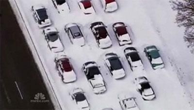 พายุหิมะถล่มสหรัฐฯ